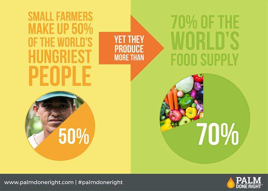 Fair trade palm oil