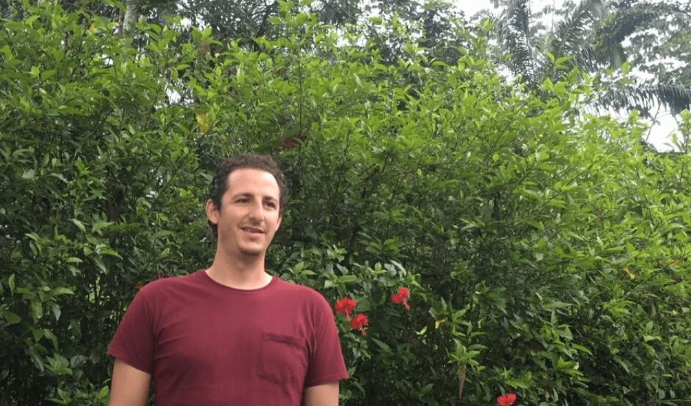 Jason Crespo, an Ecuadorian oil palm farmer