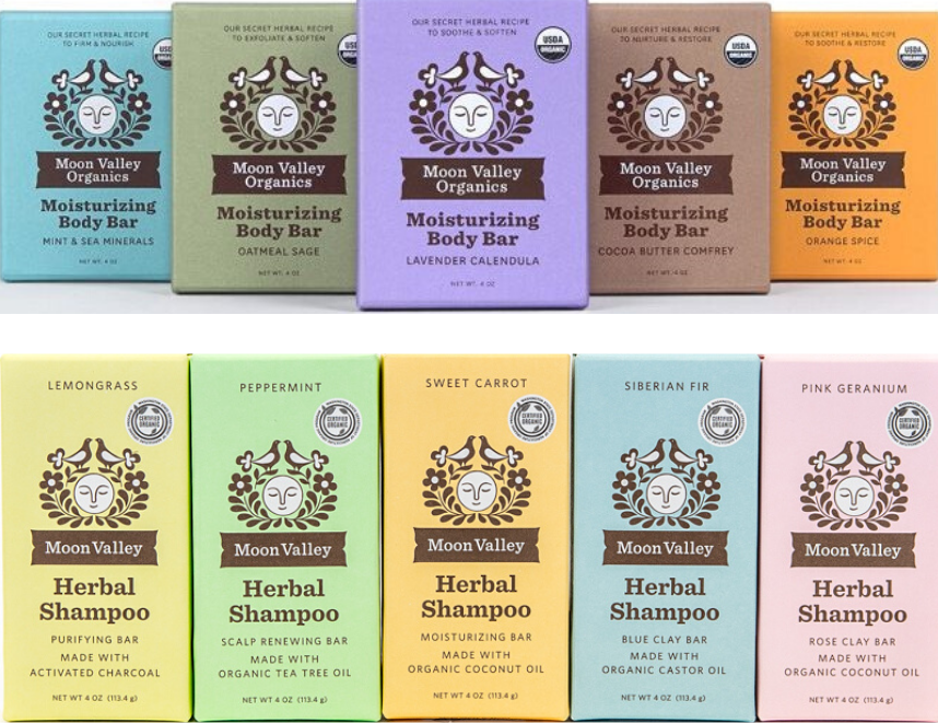 Soap and herbal