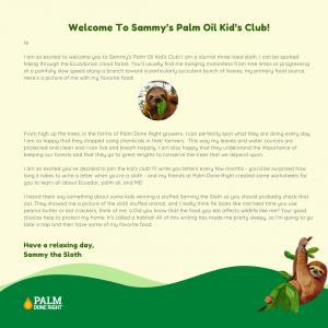 Sammy's letter