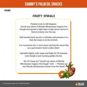 Palm oil snack Recipes